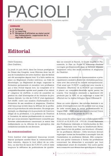 Editorial - BIBF
