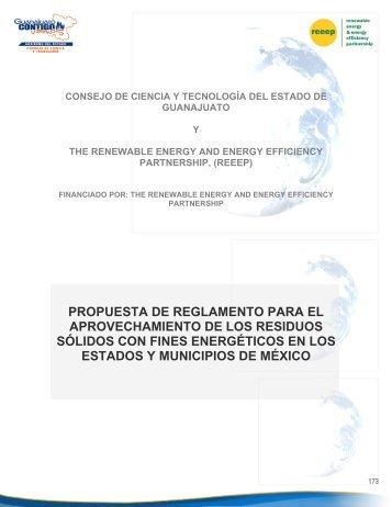 PROPUESTA DE REGLAMENTO PARA EL ... - REEEP Toolkits