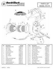 MODEL H10-76 PARTS LIST - Seam-avionic