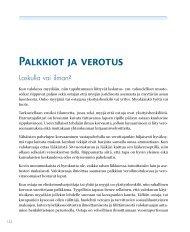 Palkkiot ja verotus - Nikkemedia.fi