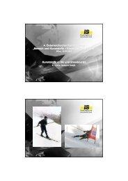 Kunststoffe in Ski und Snowboards - FCIO