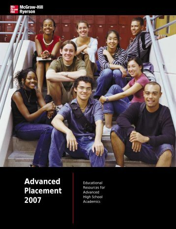 Advanced Placement 2007 - McGraw-Hill Ryerson