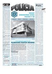 policia 08 2004 a.qxp - Odborový zväz polície v Slovenskej republike