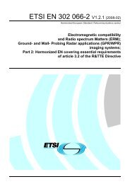 EN 302 066-2 - V1.2.1 - Electromagnetic compatibility and Radio ...