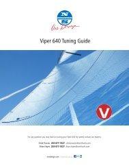 Viper Tuning Guide - North Sails - One Design