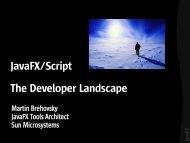 JavaFX/Script The Developer Landscape - download - Java