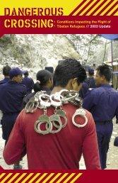 2003 Refugee Report - International Campaign for Tibet