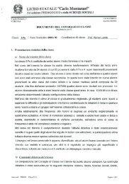 Classe 5F indirizzo Scienze Sociali - Liceo Statale C. Montanari