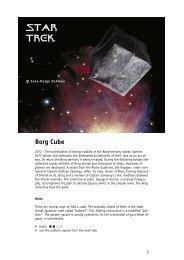 Borg Cube STAR TREK