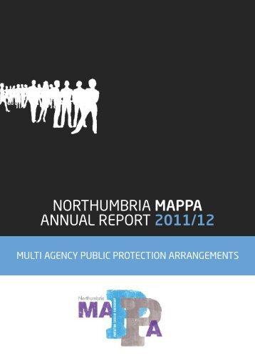 northumbria mappa annual report 2011/12 - Northumbria Police