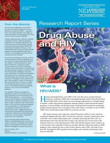 Drug Abuse and HIV - National Institute on Drug Abuse