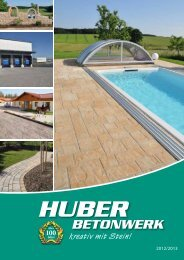 Katalog download, 7 4 MB (pdf) - Huber Betonwerke
