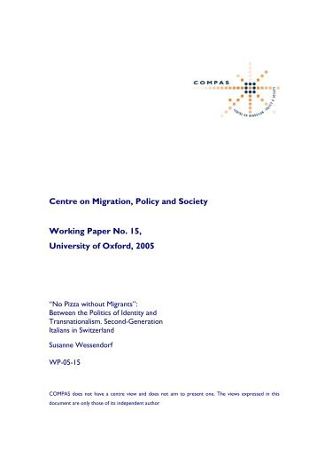 mathematica policy research working papers