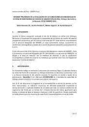 informe preliminar de la evaluacion de las condiciones ... - Imarpe