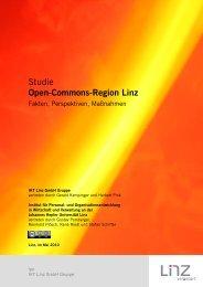 Studie Open-Commons-Region Linz - Freie Netze. Freies Wissen.