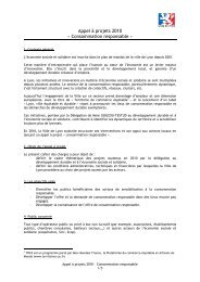 Appel à projets 2010 « Consommation responsable » - Réseau des ...