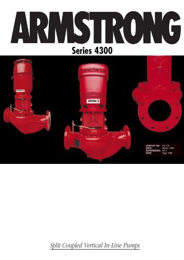 Series 4300 - Armstrong Pumps
