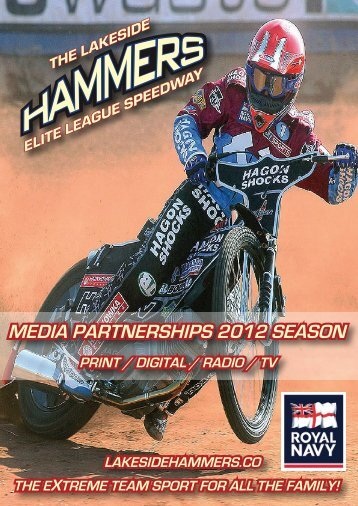 Hammers Media Partnerships - The Lakeside Hammers