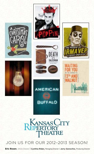 JOIN US FOR OUR 2012–2013 SeaSON! - The Kansas City ...