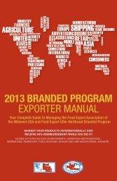 2013 branded program exporter manual - staging.files.cms.plus.com