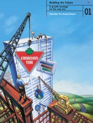 2001 Annual Report - Canadian Tire Corporation