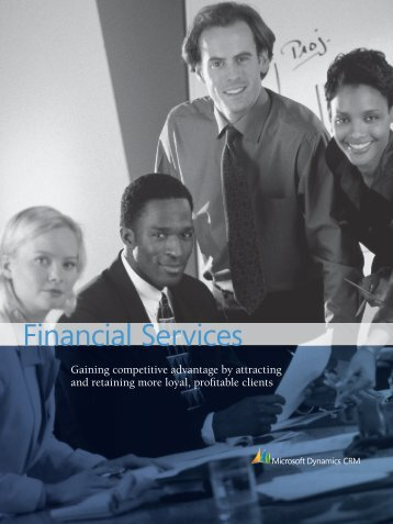 CRM for Financial Services - Green Beacon Solutions