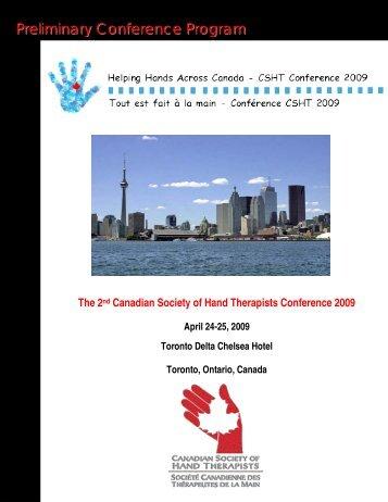 Preliminary Conference Program Preliminary Conference Program