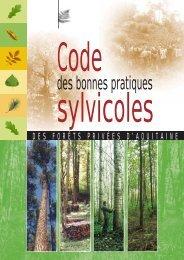 Code de Bonnes Pratiques Sylvicoles - Le Centre Régional de ...