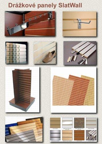 Drážkové panely SlatWall - MULTI DEKOR sro