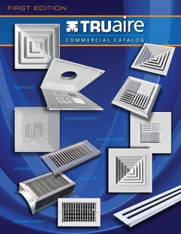 TRUaire Commercial Catalog (PDF file) - HVACQuick
