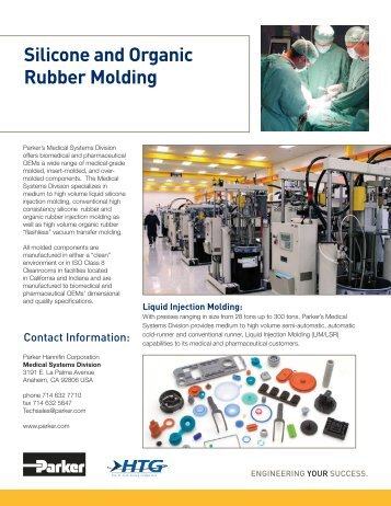 Silicone and Organic Rubber Molding - Austin Seal Company