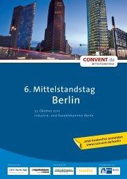6. Mittelstandstag Berlin - Convent