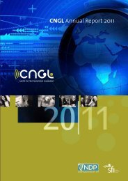 CNGL Annual Report 2011 [pdf - 4.7 MB]