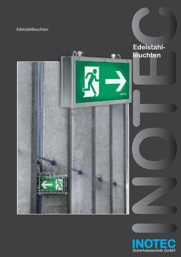 Edelstahl- leuchten - INOTEC Sicherheitstechnik GmbH