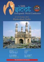 Hyderabad, India - Malaysian Orthopaedic Association