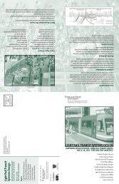light rail transit systems design - Center for Transportation Studies