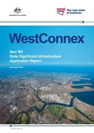 WestConnex New M5 SSI Application Report Part 1