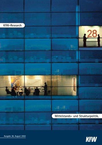 KfW-Research - KfW-Beiträge zur Mittelstands ... - german-zscore.de