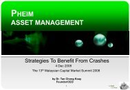 PHEIM ASSET MANAGEMENT - Asian Strategy & Leadership Institute