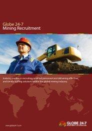 Globe 24-7 Mining Recruitment