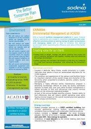 Canada: Environmental Management at ACADIA