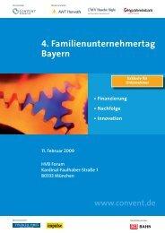 4. Familienunternehmertag Bayern - Convent