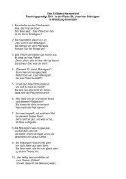 Des Zölibates Narrenkleid Faschingspredigt 2011 in der Pfarrei  St ...