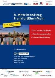 8. Mittelstandstag FrankfurtRheinMain - Convent