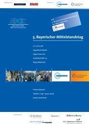 5. Bayerischer Mittelstandstag - Convent