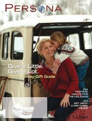 Give a Little. Give a Lot. 2011 Holiday Gift Guide - InteliSpend