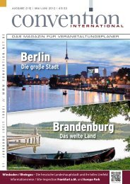 Das gesamte Magazin - Convention-International