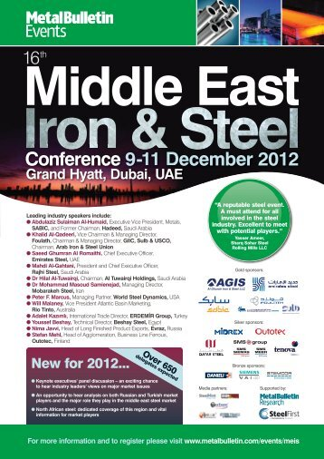 Conference 9-11 December 2012