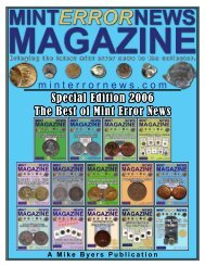 2006 Special Edition - Mint Error News Magazine