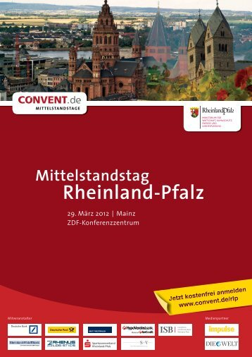 Mittelstandstag Rheinland-Pfalz - Convent